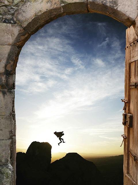 人生を突破する大きな扉を開ける方法