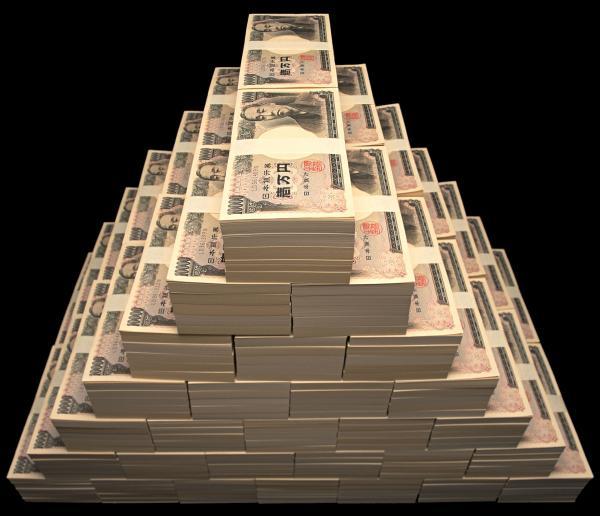 お金 札束 一億円